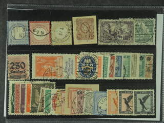 Germany Reich. Used 1872–1926. All different, e.g. Mi 5, 9, 22, 35, 96, 137, 234, 294, …