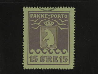 Denmark Greenland. Facit P8 II used , 15 øre violet. Very small piece of pmk. Perfect …