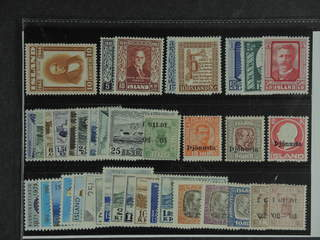 Iceland. ★★ 1944-71. All different, e.g. F 273, 317-18, 324-25, 327-29, 337-44, 353, Tj …