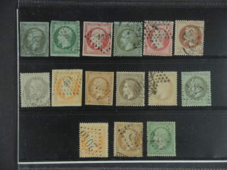 France. Used 1853–1862. All different, e.g. Mi 10-11, 16, 18, 23, and 25-26. Mostly good …