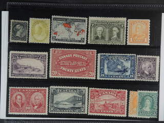 Canada. ★ 1870-1929. All different, e.g. Mi 25, 69, 74, 88, 89(★), 115, 122, 126, 128D, …