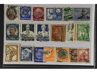 Germany Reich. Used 1929–35. All different, e.g. Mi 433, 481, 488, 506, 538-39, 543, …