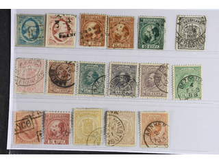 Netherlands. Used 1852–1872. All different, e.g. Mi 1-2, 9 IIC+E, 10 II, 14A, 16, 20, …