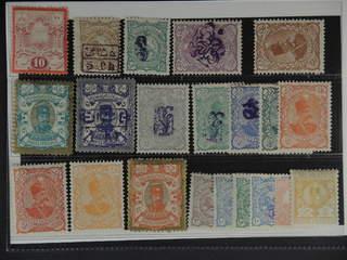 Iran. ★ 1882–1899. All different, e.g. Mi 41, 90-91, 93, 102-03 II, 106-07 II, 109 II, …