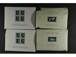 Germany. ★★. Small lot s/s and booklets. Somewhat mixed quality.