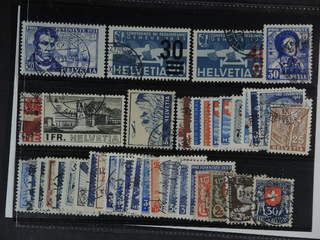 Switzerland. Used 1924-44. All different, e.g. Mi 249, 292-93, 309-10, 324, 362, 394,. …