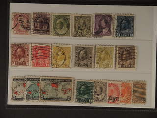 Canada. Used 1870–1922. All different, e.g. Mi 31, 61, 72, 82-83. Mostly good quality. …