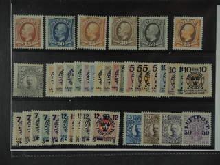 Sweden. ★ 1891-1920. All different, e.g. F 55-59, 67, 91(★), 105-14, 115-23, 126-35, …