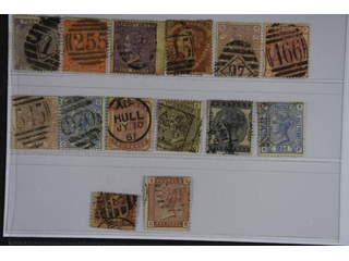 Britain. Used 1862-1880. All different, e.g. Mi 20, 24-25, 37, 40-41, 47, 51, 58, 61-62. …