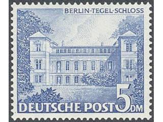 Germany Berlin. Michel 42–60 ★★ , 1949 Buildings SET (19). EUR750