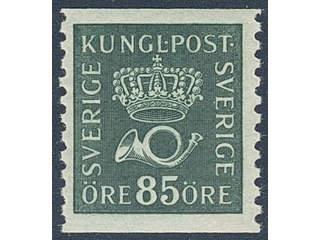 Sweden. Facit 166a ★★ , 85 öre blue-green.