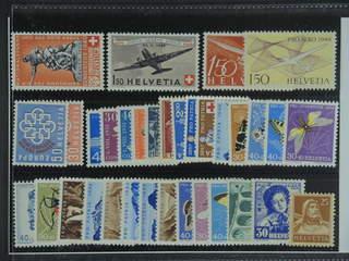 Switzerland. ★★ 1925–60. All different, e.g. Mi 368, 435, 470, 518, 558-59, and 681-82. …