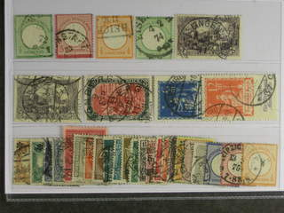 Germany Reich. Used 1872–1923. All different, e.g. Mi 2, 9, 14, 17, 80, 96-97, 233-34. …