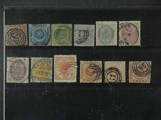 Denmark. Used 1851-1905. All different, e.g. F 2-3, 5-6, 34, 36, 44,. Mostly good …