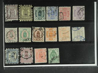 Finland. Used 1866-1891. All different, e.g. F 5//, 7//, 14S, 16S, 18S, 19c2, 24, 33-34. …