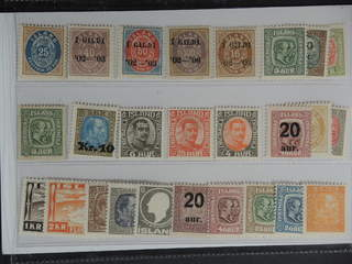 Iceland. ★ 1876–1934. All different, e.g. F 29, 42, 43-44, 54, 79, 94, 103. Mostly good …