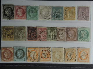 France. Used 1849–1900. All different, e.g. Mi 3, 31, 39, 47, 60I, 70, 76, 82. Mostly …
