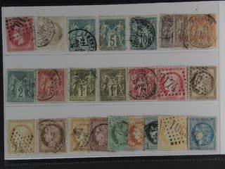 France. Used 1862–1876. All different, e.g. Mi 31, 47, 58-59 I, 60 I, 65 I, 57 II, 66 …