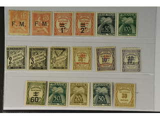France. ★ 1901–53. Back-of-the-book. All different, e.g. Mi Militaire 1(★), 2, Postage …