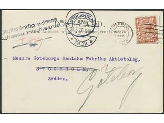 Sweden. OFULLSTÄNDIG ADRESS ADRESSE INSUFFISANTE. together with the posatl clerk's …