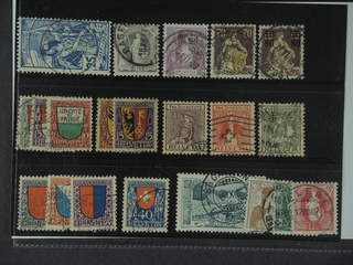Switzerland. Used 1900–21. All different, e.g. Mi 73, 91, 100, 108, 127, 133-35, 143-44, …
