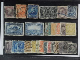 Canada. Used 1870-1932. All different, e.g. Mi 31, 36-38, 71, 87, 89, 154. Mostly good …