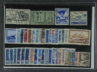 Switzerland. Used 1924–49. All different, e.g. Mi 324, 330v, 362, 394, 434, and 528. …