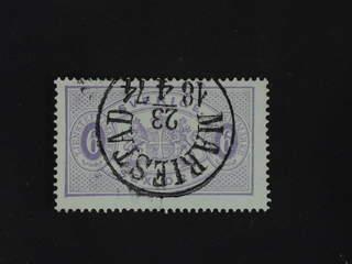 Sweden. Official Facit Tj4a used , 6 öre reddish violet, perf 14. Beautiful copy …