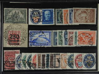 Germany Reich. Used 1922–37. All different, e.g. Mi 296, 351-54, 367, 400, 405, 423, …