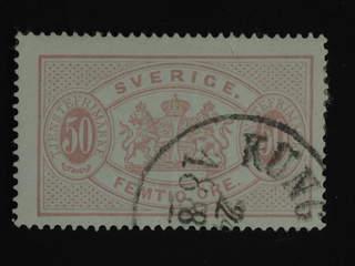 Sweden. Official Facit Tj9 used , 50 öre red, perf 14. SEK1000