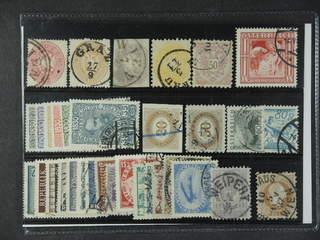 Austria. Used 1863–1955. All different, e.g. Mi 26, 28-30, 49, 162, 631, Postage Due 9. …