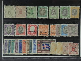 Iceland. ★ 1873-1932. Officials. All different, e.g. Tj9, 11, 19, 31, 39, 48–50, 53, 55, …