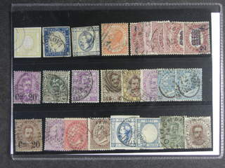 Italy. Used 1861–1910. All different, e.g. Mi 13-14, 13-14, 15 I, 22, 29-36, 57. Mostly …