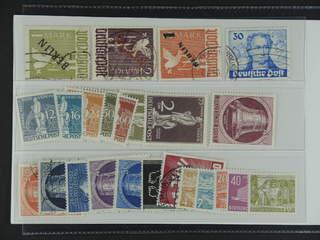 Germany Berlin. Lot ★★/★/⊙. E.g. 1mk black overprint and 2mk red overprint used, UPU set …