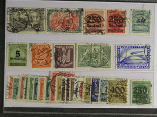 Germany Reich. Used 1915–28. All different, e.g. Mi 96-97, 293-94, 330, 333, 347-48, …