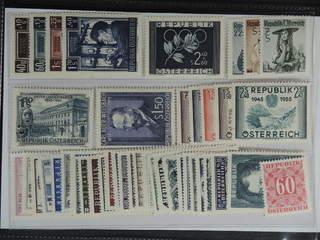Austria. ★★ 1951–63. All different, e.g. Mi 960-63, 969, 978-80, 988, 1006, 1012-16. …