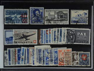 Switzerland. Used 1925-45. All different, e.g. Mi 293, 309, 324, 394, 434, 438,. Mostly …