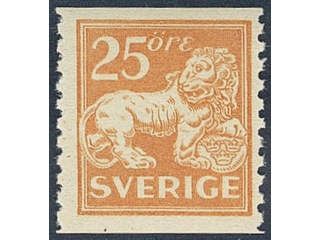 Sweden. Facit 147 ★★ , 25 öre orange.