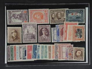 Belgium. ★ 1910–13. All different, e.g. Mi 106, 111, 128, 139, 154, 249, 321. Mostly …