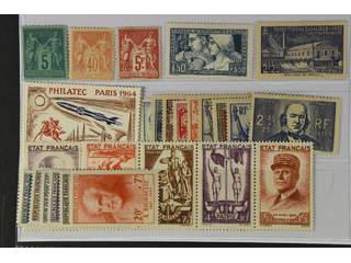 France. ★ 1876–1964. All different, e.g. Mi 59 II, 65 II, 176, 229, 589-93, 1015-20, …