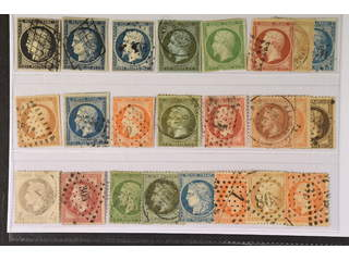 France. Used 1849–1870. All different, e.g. Mi 3-4, 9-11, 16, 18, 23, 25-26, 31. Mostly …