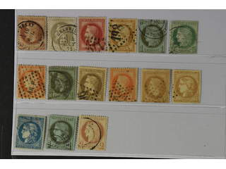 France. Used 1862–1870. All different, e.g. Mi 25-26, 31, 33, 36, 39-40. Mostly good …