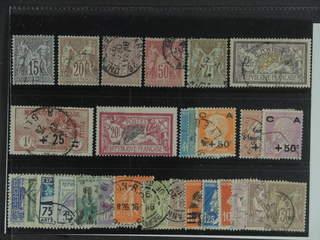France. Used 1876–1929. All different, e.g. Mi 61-62 I, 76, 81 I, 85, 99, 150, 183, …