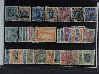 Iceland. Used 1873-1947. All different, e.g. F 97, 107v, 134, 144, 154, 156, 159, 199, …