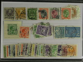 Denmark. Used 1904–1930. All different, e.g. F 67-68, 122, 144, 162, 164, 168-69, …