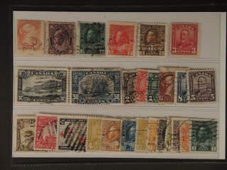 Canada. Used 1870–1930. All different, e.g. Mi 31, 61, 92bC, 93bD, 103 IA, 130, 135, …