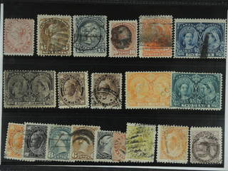 Canada. Used 1859-1898. All different, e.g. Mi 10, 22, 24, 31, 36, 42, 44, 59, 68, …