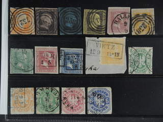 Germany Prussia. Used 1850-1867. All different, e.g. Mi 1-4, 6, 8-9, 11-12, 22, 24-25. …