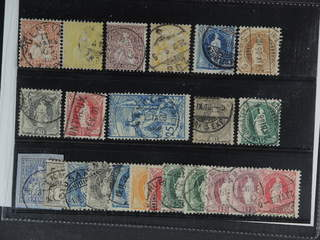 Switzerland. Used 1862-1907. All different, e.g. Mi 25, 31, 35, 56, 62, 64, 68, 70D, 73, …