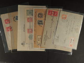 Sweden. Collection cancellations Z-county. Postal items 1890–1930s, incl. e.g. cash on …